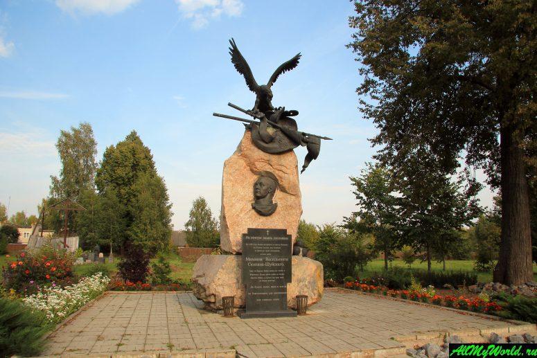 Достопримечательности Калязина - памятник Скопину-Шуйскому