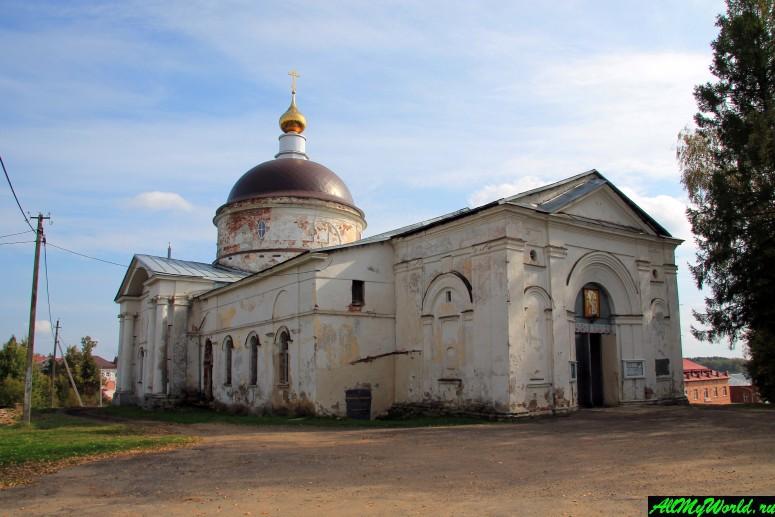 Достопримечательности Мышкина - Собор Николая Чудотворца (Никольский собор)