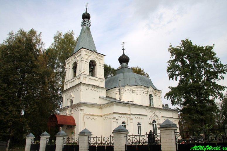 Достопримечательности Мышкина - Скорбященская церковь