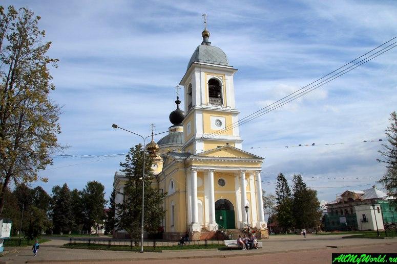 Достопримечательности Мышкина - Собор Успения Божией Матери (Успенский собор)