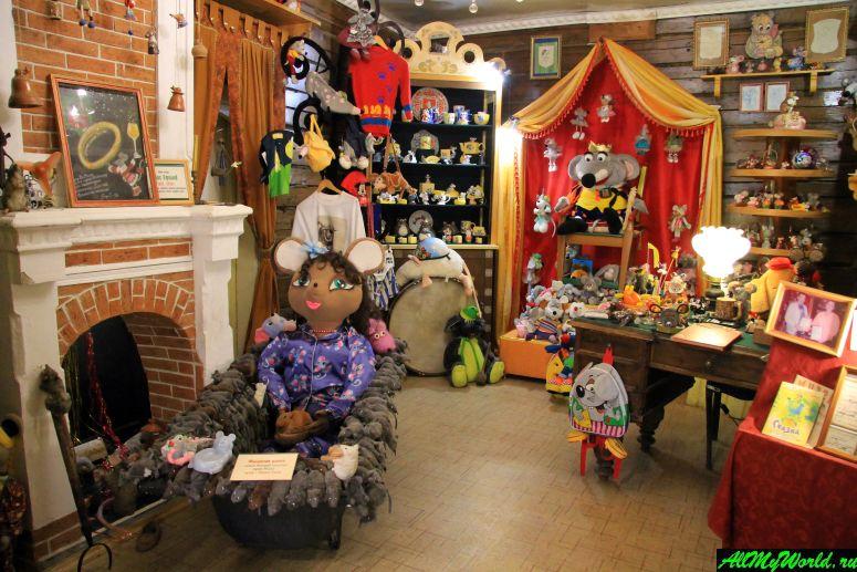 Достопримечательности Мышкина - Музей мыши