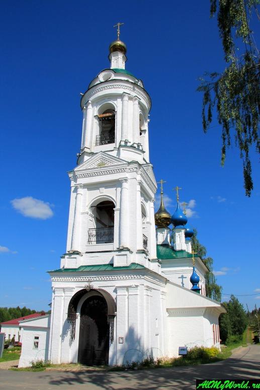 Достопримечательности Плеса: Церковь Святой Варвары