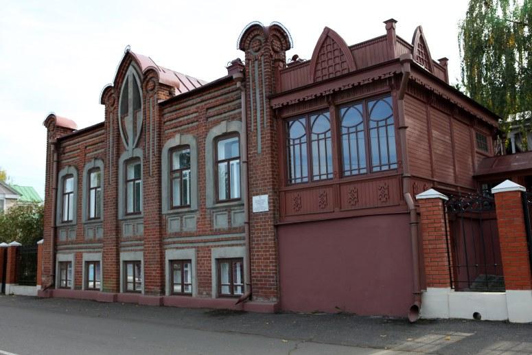 Достопримечательности Плеса: дом купца Новожилова