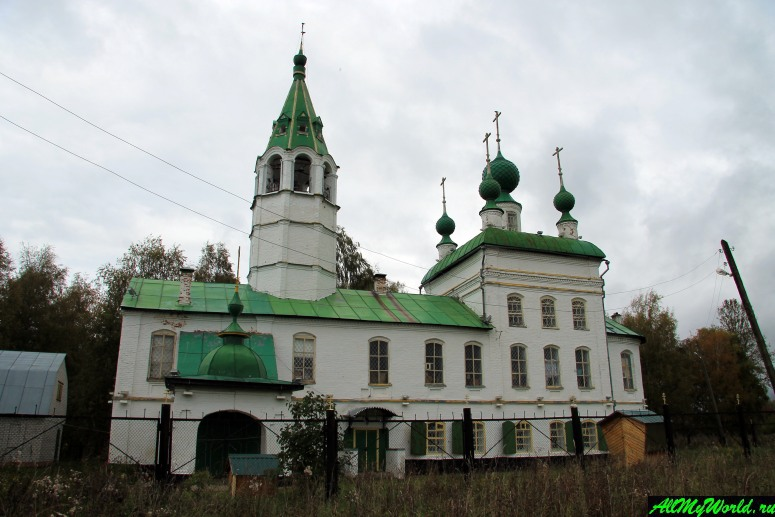 Достопримечательности Тутаева: Леонтиевская церковь