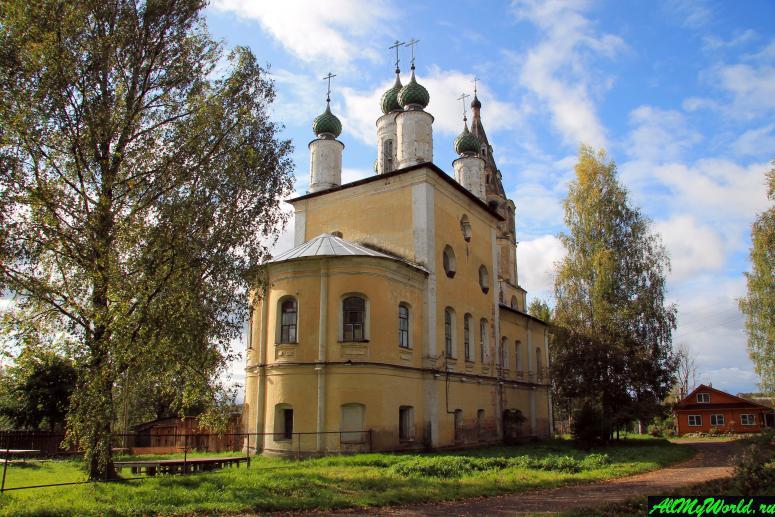 Достопримечательности Тутаева: Спасо-Архангельская церковь