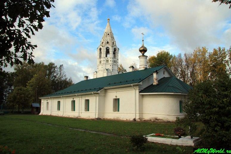 Достопримечательности Тутаева: Церковь Покрова Богородицы