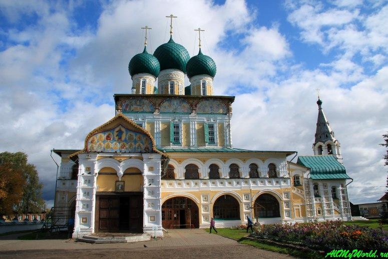 Достопримечательности Тутаева: Воскресенский собор