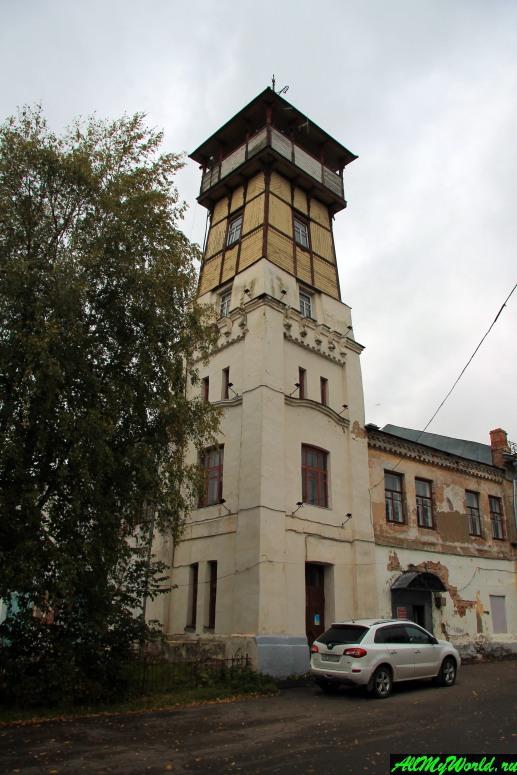 Достопримечательности Тутаева: пожарная каланча