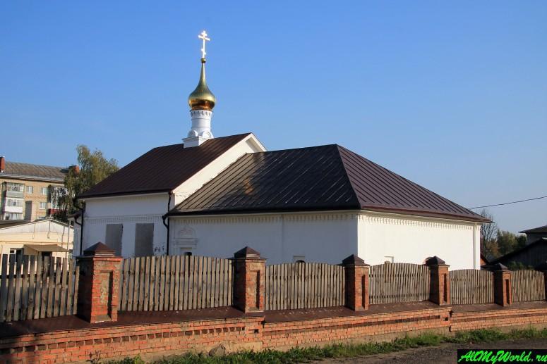 Достопримечательности Юрьева-Польского: Борисоглебская церковь