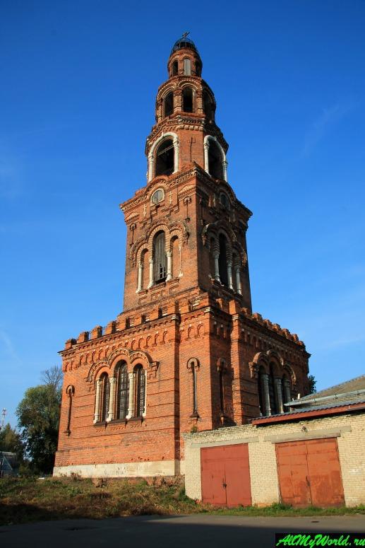 Достопримечательности Юрьева-Польского: колокольня Петропавловского монастыря