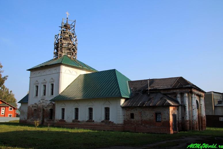 Достопримечательности Юрьева-Польского: церковь Вознесения Господня Петропавловского монастыря