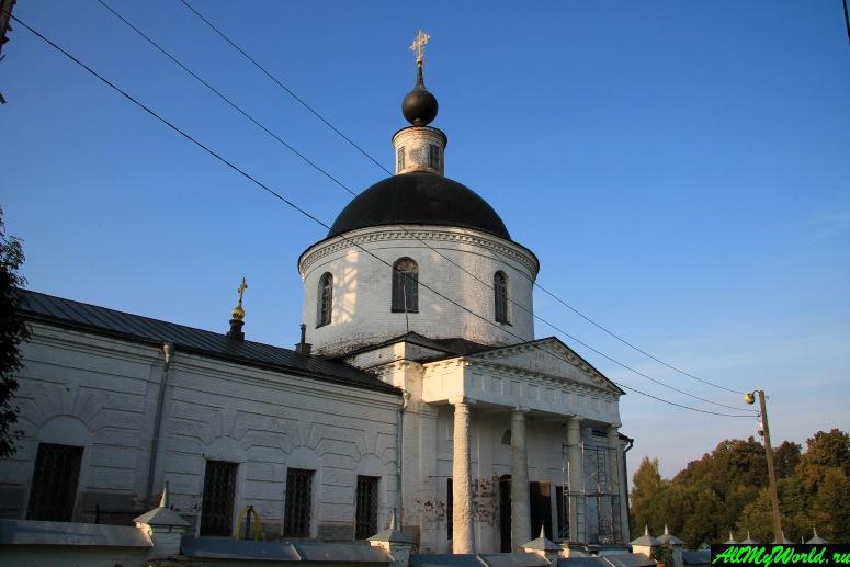 Достопримечательности Юрьева-Польского: Свято-Никольский монастырь в селе Новое