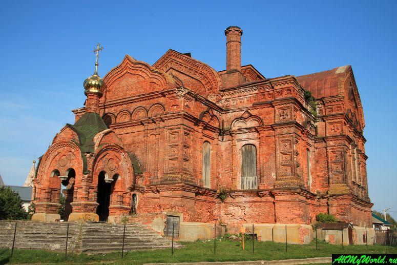 Достопримечательности Юрьева-Польского: собор Троицы Живоначальной