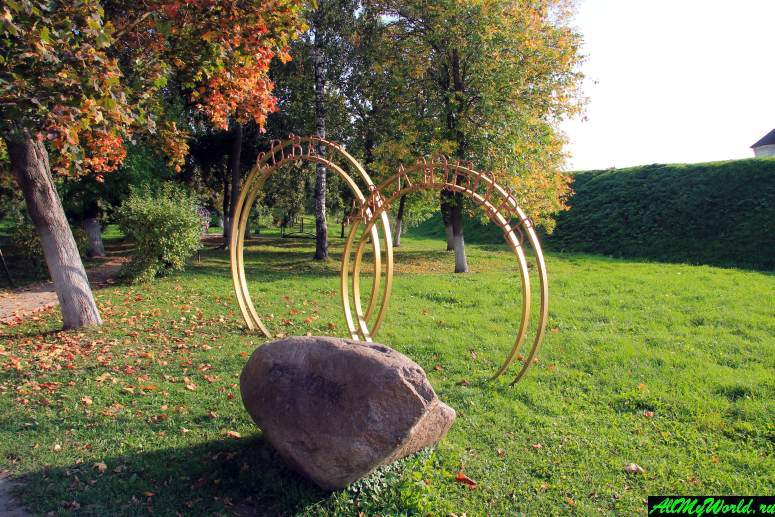 Достопримечательности Юрьева-Польского: Парк молодоженов