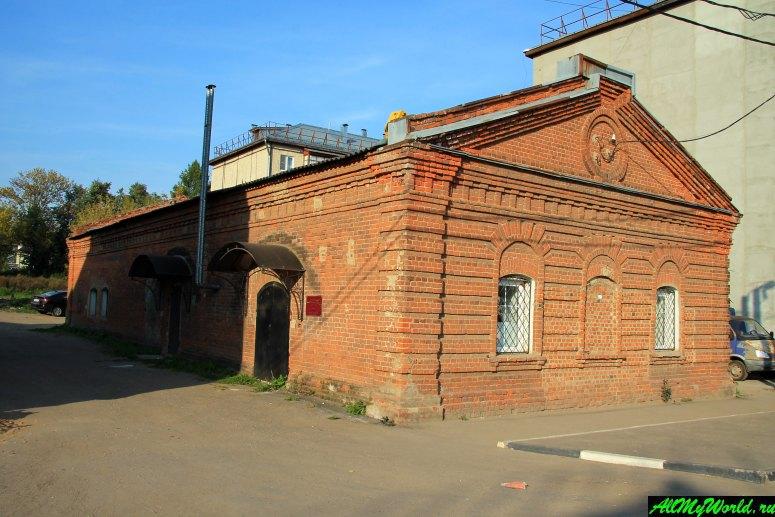 Достопримечательности Юрьева-Польского: здание старинного амбара