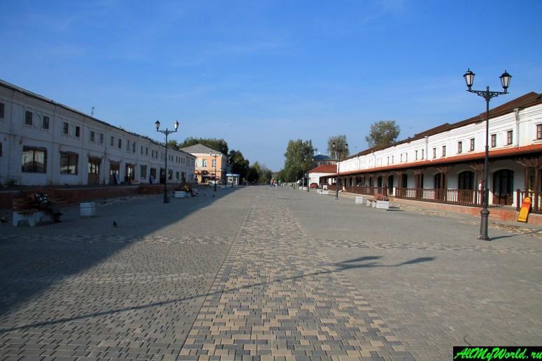 Достопримечательности Юрьева-Польского: Торговые ряды