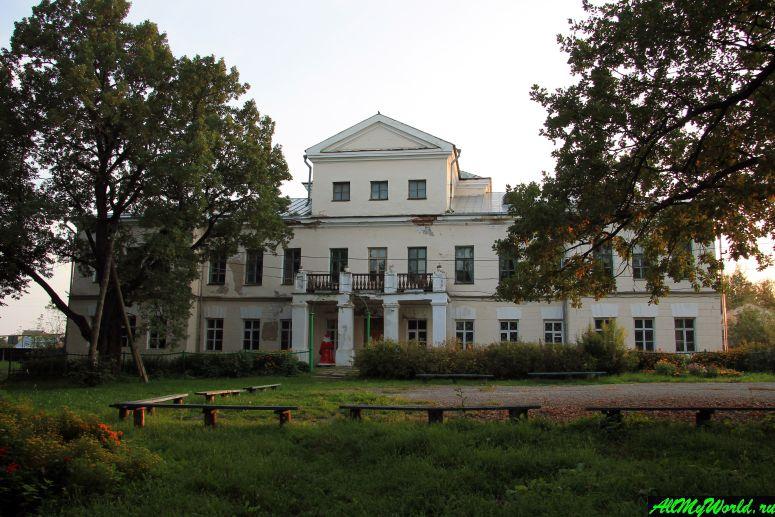 Достопримечательности Юрьева-Польского: усадьба Голицыных в селе Сима