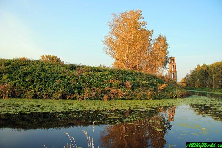 Достопримечательности Юрьева-Польского: земляные валы древнего Мстиславля