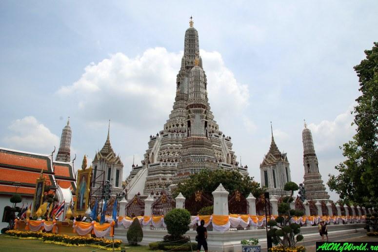 Достопримечательности Бангкока - Ват Арун (Храм Утренней Зари)