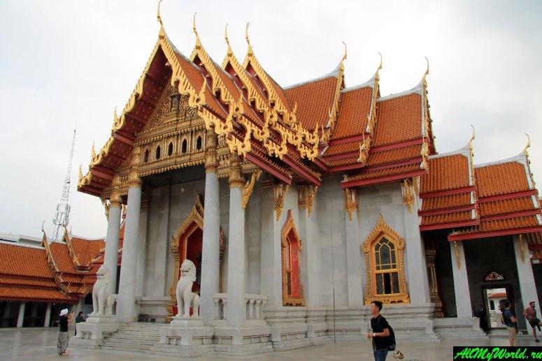 Достопримечательности Бангкока - Ват Бенчамабопхит (Мраморный храм)
