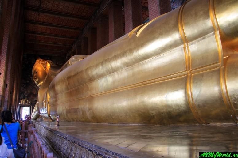 Достопримечательности Бангкока - Ват По (Храм Лежащего Будды)