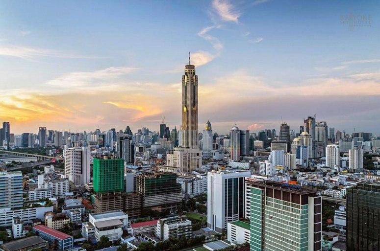 Достопримечательности Бангкока - Отель-небоскреб Baiyoke Sky
