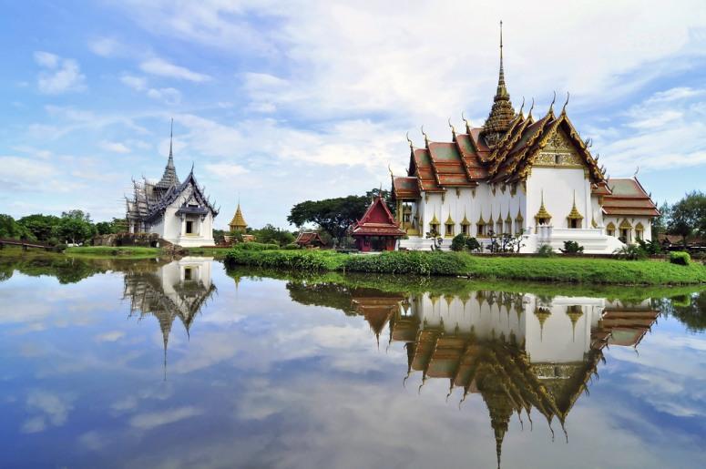 Достопримечательности Бангкока - Этнографический парк Муанг Боран