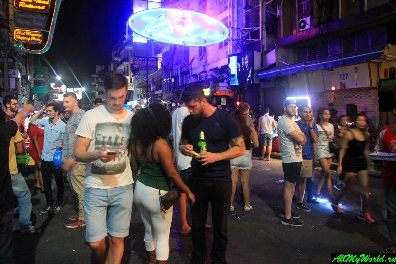 Достопримечательности Бангкока - Каосан-роуд