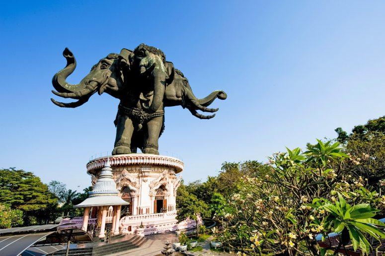 Достопримечательности Бангкока - Музей Эраван