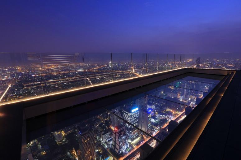 Достопримечательности Бангкока - Смотровая площадка на небоскребе Маханакхон