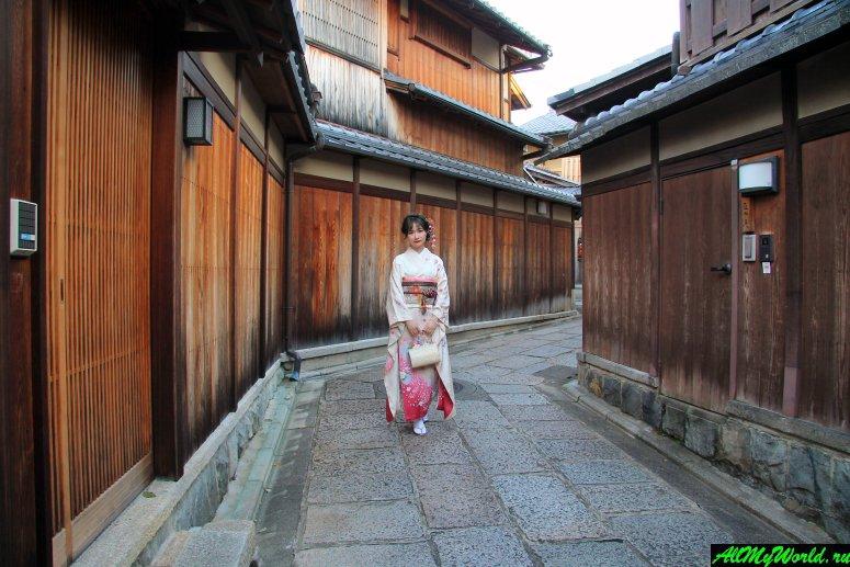 Достопримечательности Киото - Гион