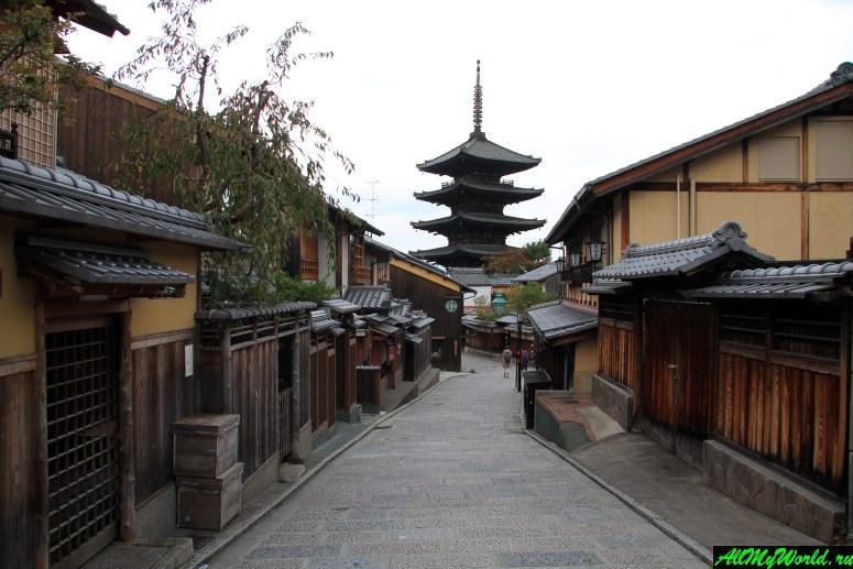 Достопримечательности Киото - Район Хигасияма