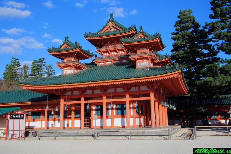 Достопримечательности Киото - Храм Хэйан-дзингу