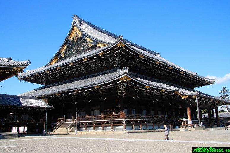 Достопримечательности Киото - Храм Хигаси-Хонган-дзи
