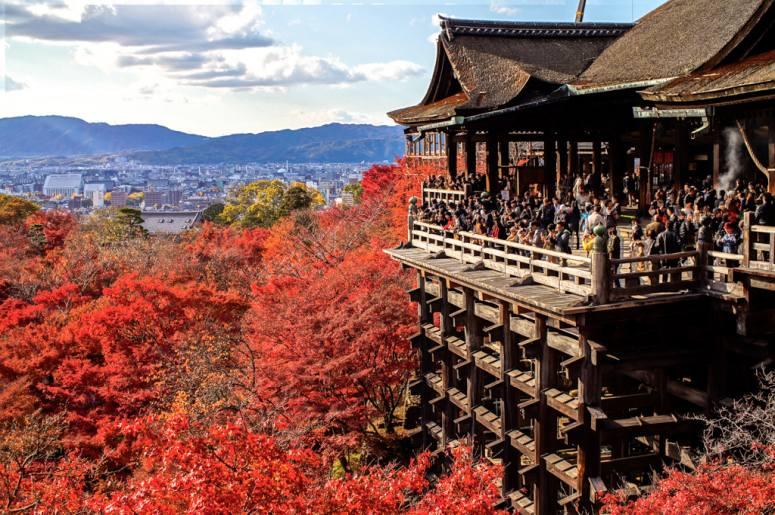 Достопримечательности Киото - Храм Киёмидзу-дэра