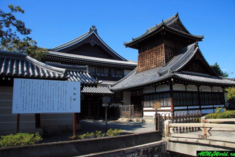 Достопримечательности Киото - Храм Ниси-Хонган-дзи