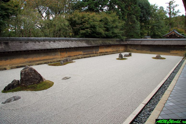 Достопримечательности Киото - Храм Рёан-дзи
