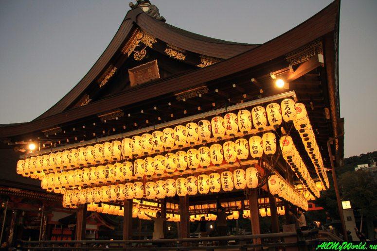 Достопримечательности Киото - Храм Ясака-дзиндзя