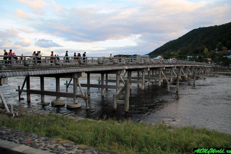Достопримечательности Киото - Мост Тогэцукё