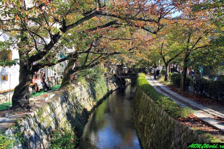 Достопримечательности Киото - Философская тропа