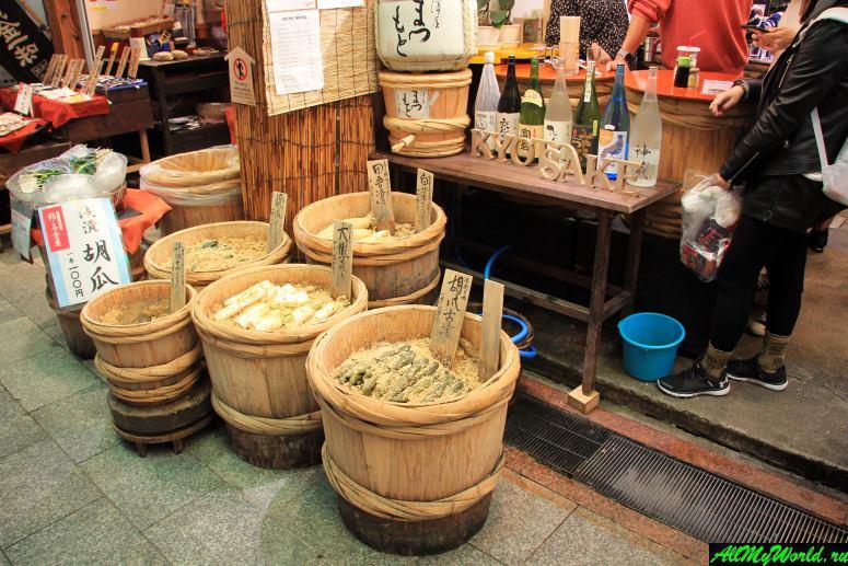 Достопримечательности Киото - Рынок Нисики