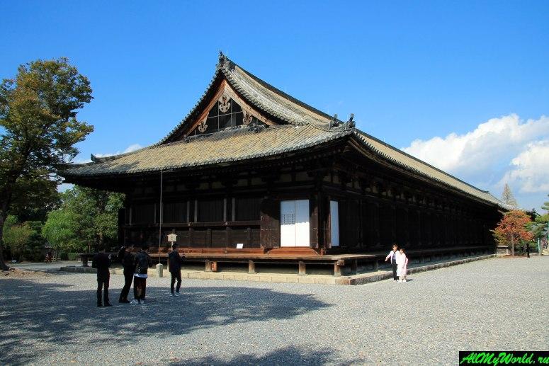 Достопримечательности Киото - Святилище Сандзюсангэн-до