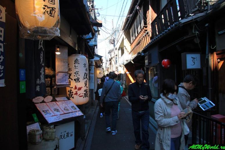 Достопримечательности Киото - Улица Понто-тё