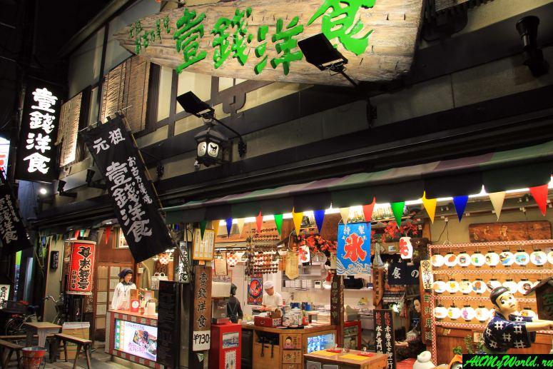 Достопримечательности Киото - Улицы Каварамати-дори и Сидзё-дори