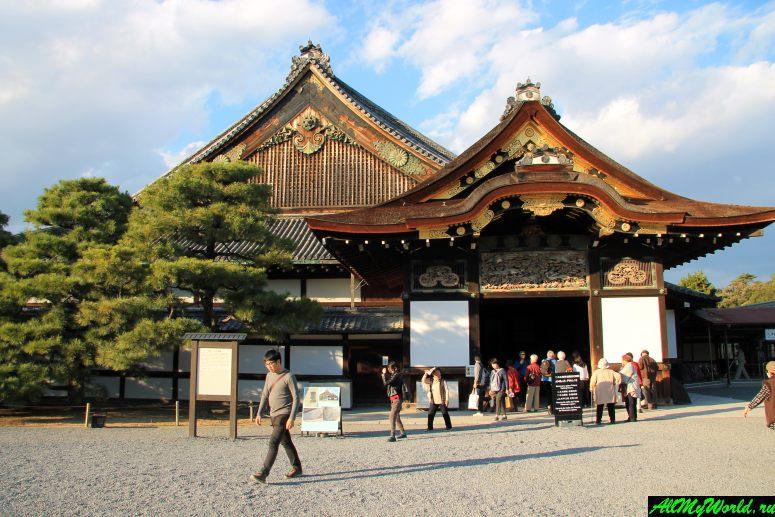Достопримечательности Киото - Замок Нидзё