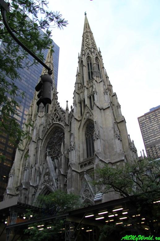 Достопримечательности Нью-Йорка - Собор Святого Патрика