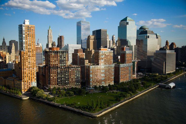 Достопримечательности Нью-Йорка - Батарейный парк (Battery Park)