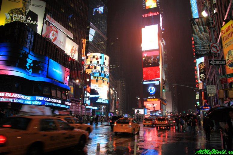 Достопримечательности Нью-Йорка - Бродвей