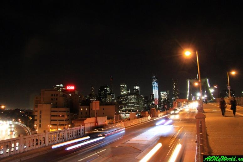 Достопримечательности Нью-Йорка - Бруклинский мост