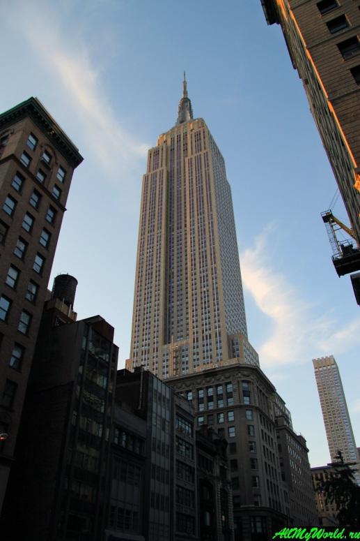 Достопримечательности Нью-Йорка - Эмпайр-стейт-билдинг